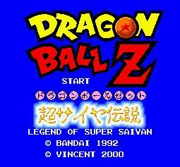 Dragon Ball Z - The Legend Saiyan