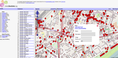 Open Street Map Linked GeoData