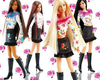 Model Baju Barbie