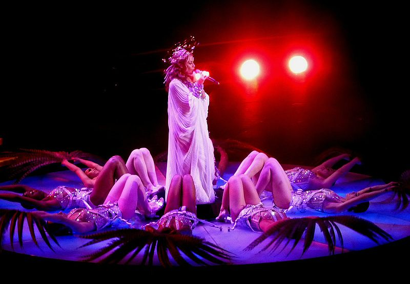 Kylie Minogue Aphrodite Tour Creaky Kylie Minogue t...