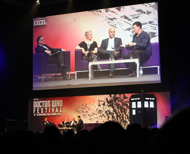 Doctor Who Festival 2015 - writers panel