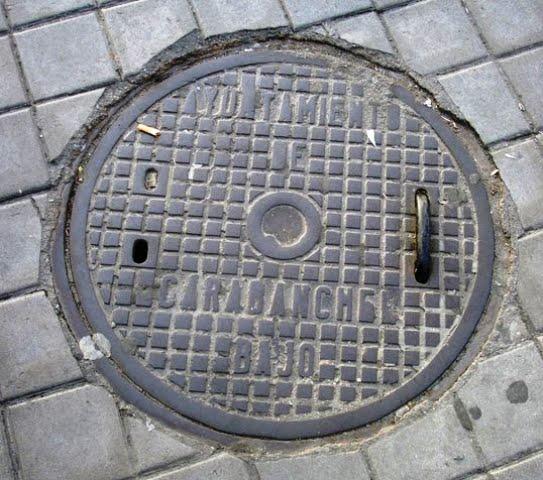 Alcantarillas y tapas manhole cover vamos para - Tapas de alcantarillado ...