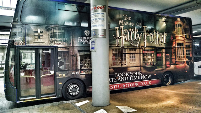 Warner Bros. Studios Harry Potter Tour Bus