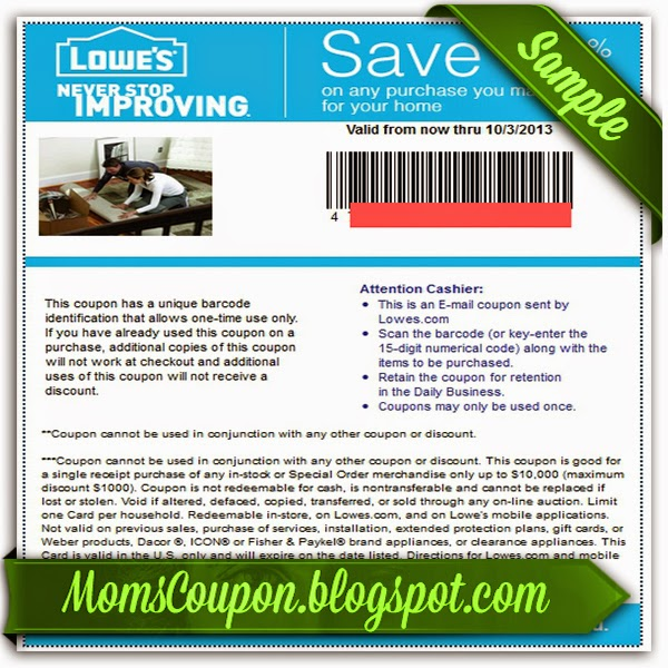 Like Lowe's coupons? Try these...