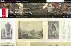La Biblioteca Británica publica más de un millón de imágenes antiguas en Flickr