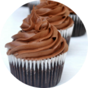 Chocolate Salted Caramel Truffle Cupcakes