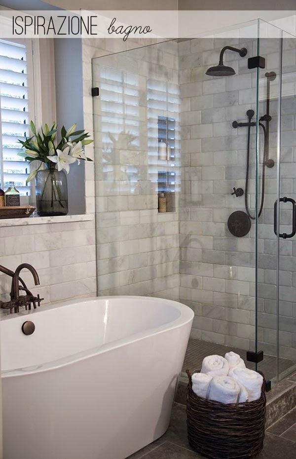 Bagno in camera uno dei miei sogni segreti home shabby for Bagno y bagno gr