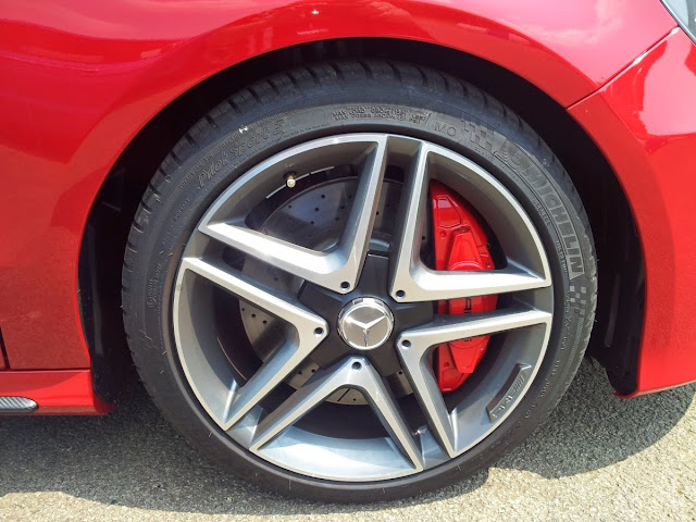 Mercedes A45 AMG wheels