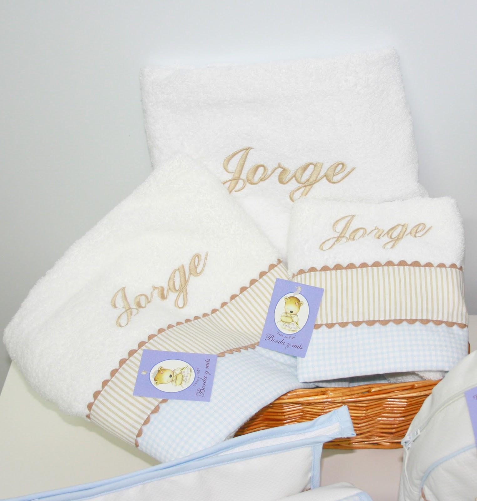 juego toallas para recien nacido