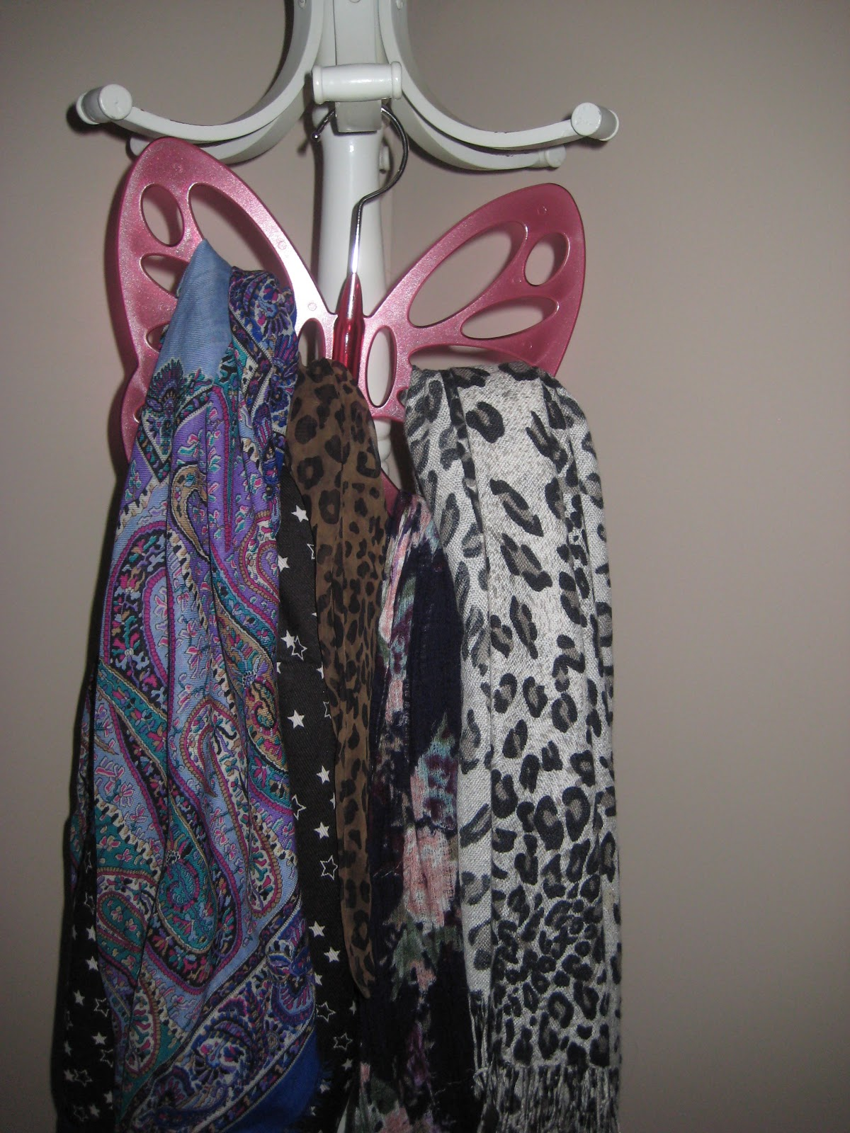 butterfly scarf hanger ms bubu and girlyness