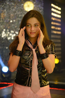 Actress Sneha Ullal Latest  Pictures in Mini Skrit from Action 3D Telugu Movie  0014.jpg