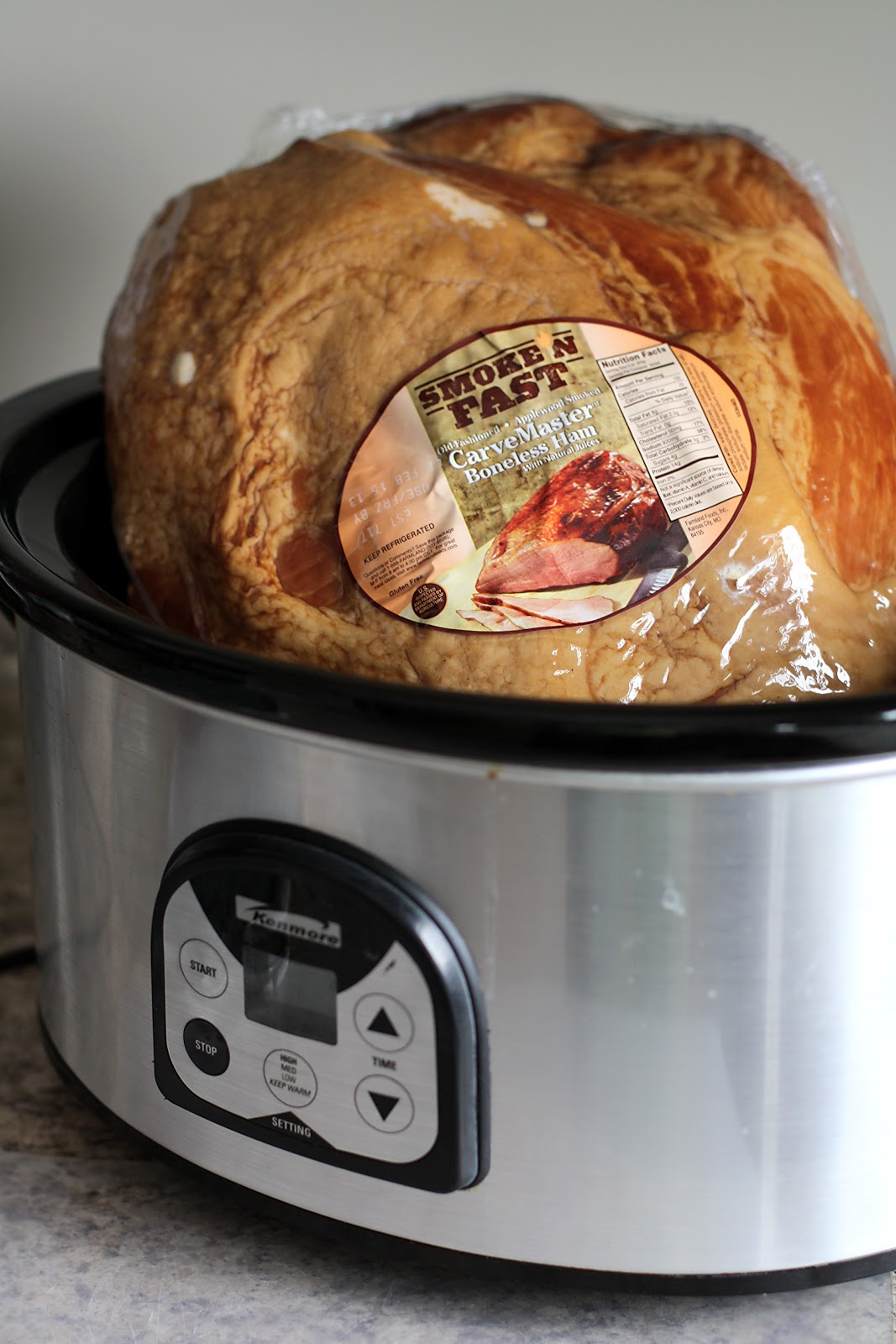 christmas ham cooked in coca cola