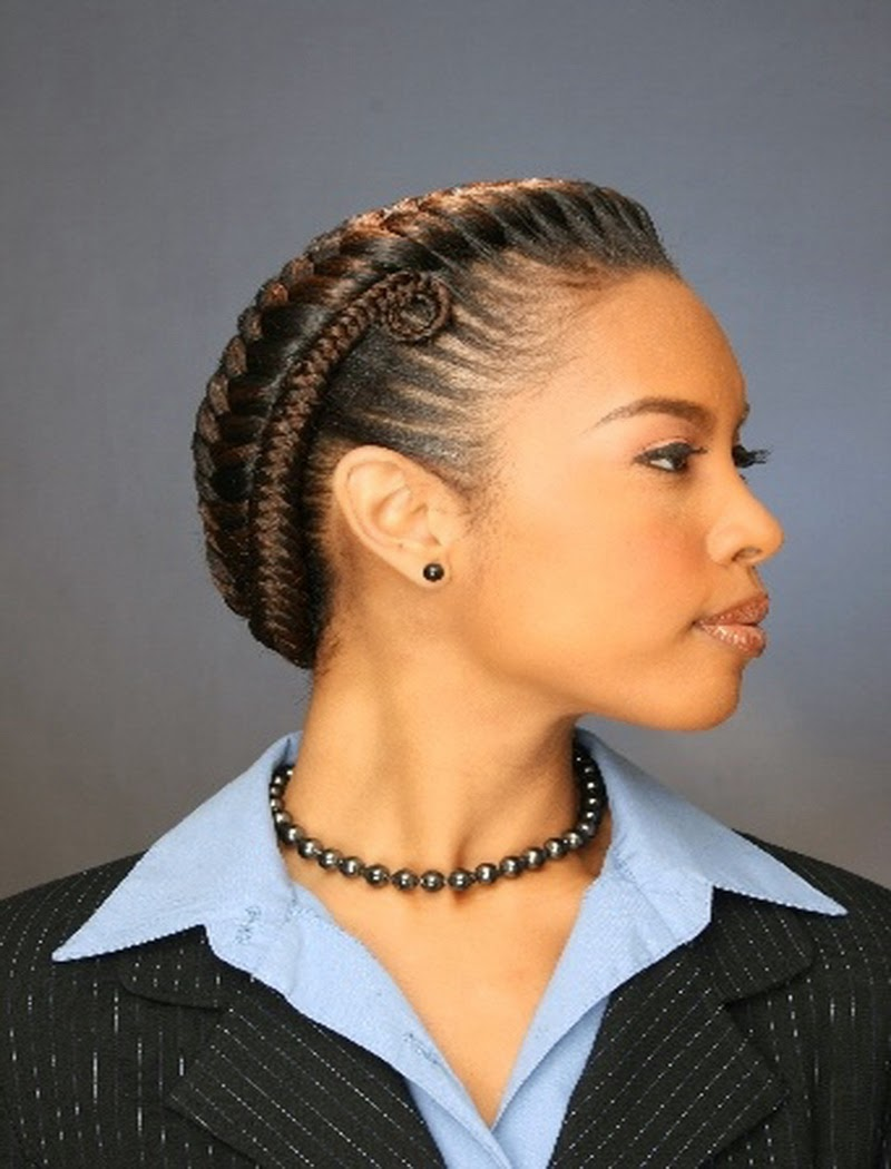 Simple Braided Hairstyles For Medium Natural Hair : Top easy braided natural hairstyles gallery