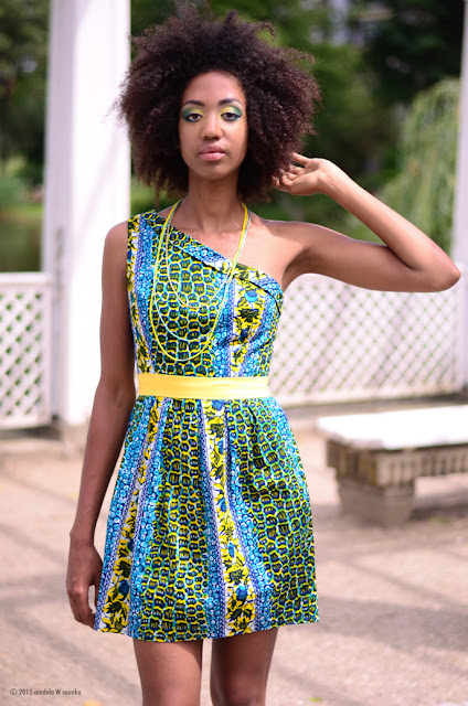 African fashion dress