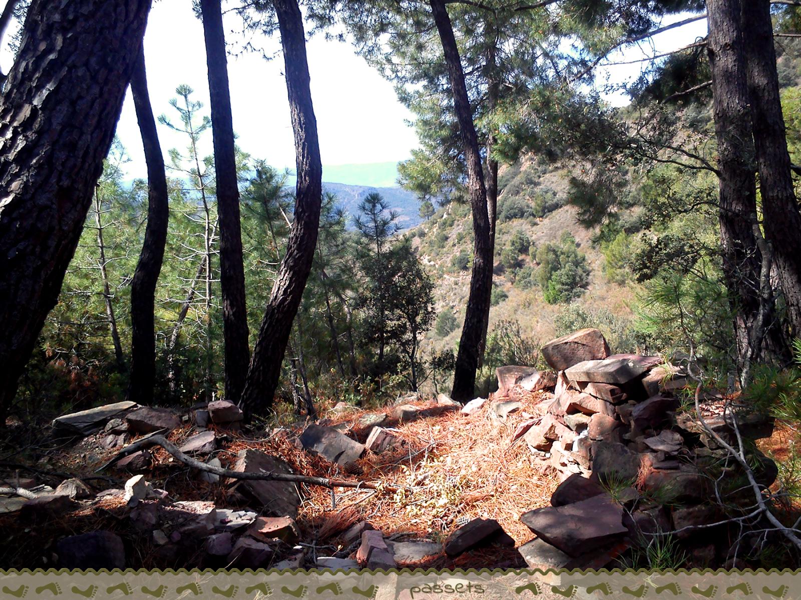 Trincheras guerra civil en sierra Espadán
