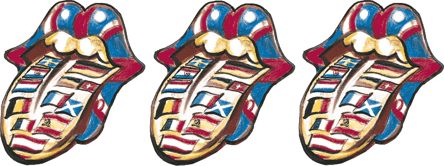 Ronnie Wood's Flag Tongue