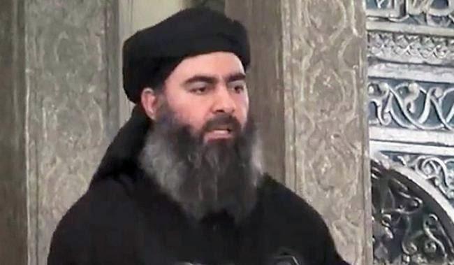 اصابة زعيم داعش بجروح خطيرة