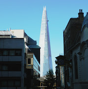On a rare sunny Morning I was able to get a picture of the Shard building .