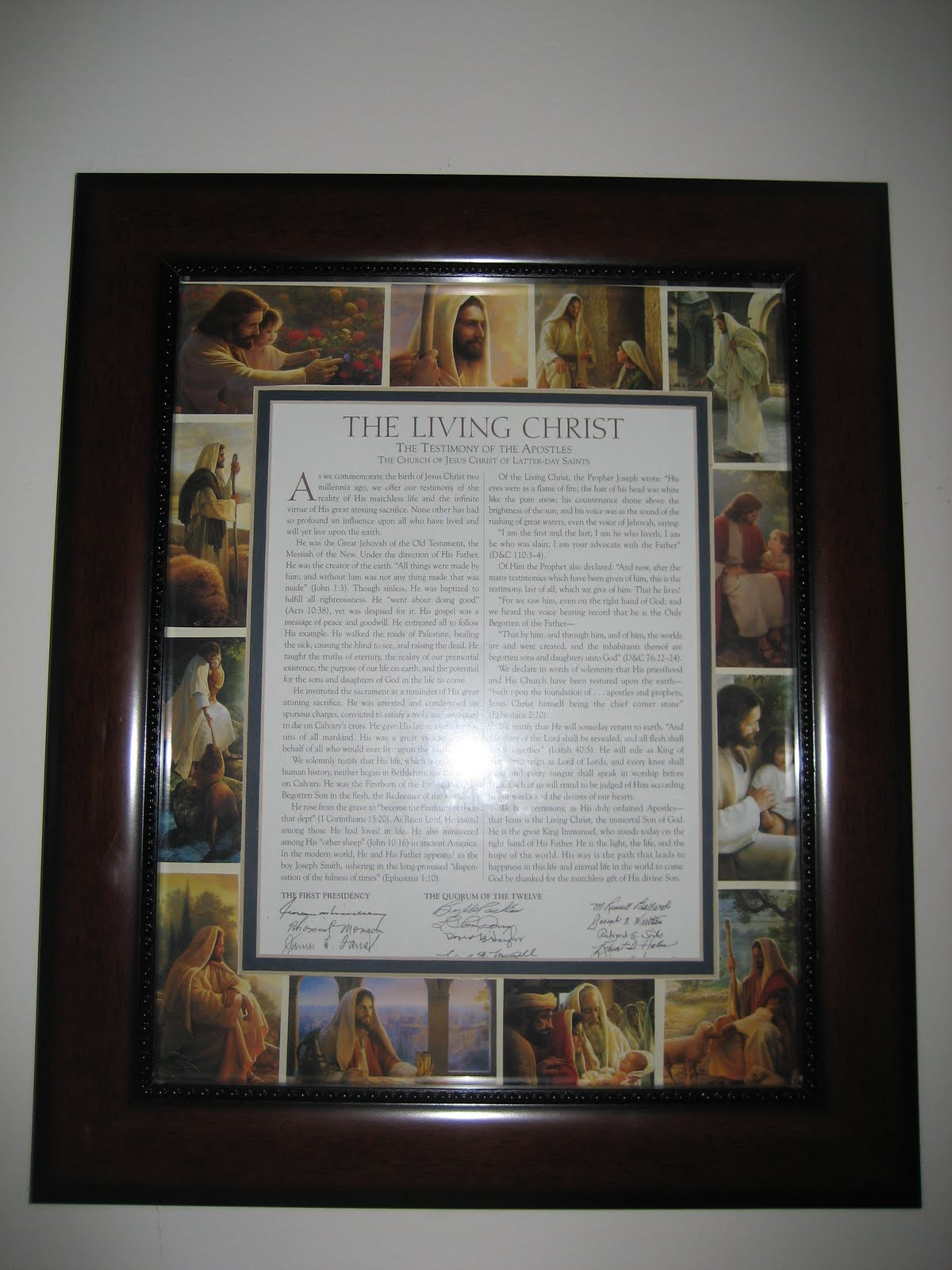 Anna S Simple Crafts The Living Christ Frame