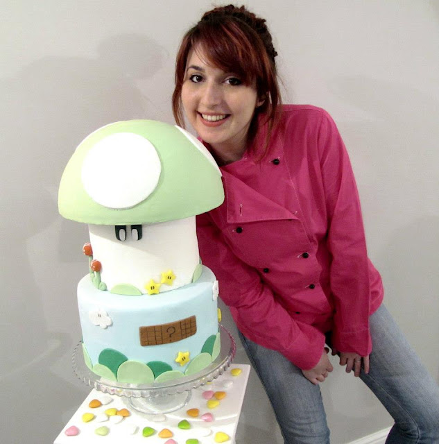 silvia dolci peccati super mario cake