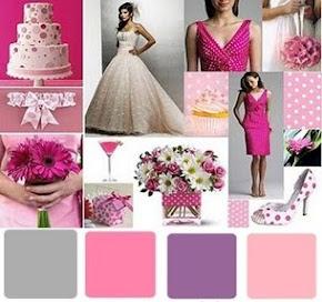 Glamorous pink purple