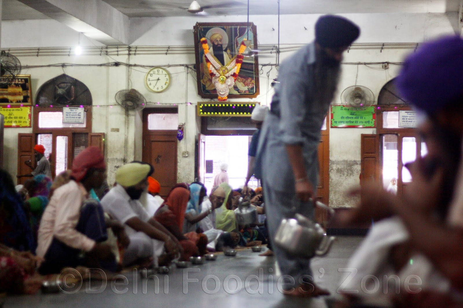 Langar hall of Golden Temple, Amritsar