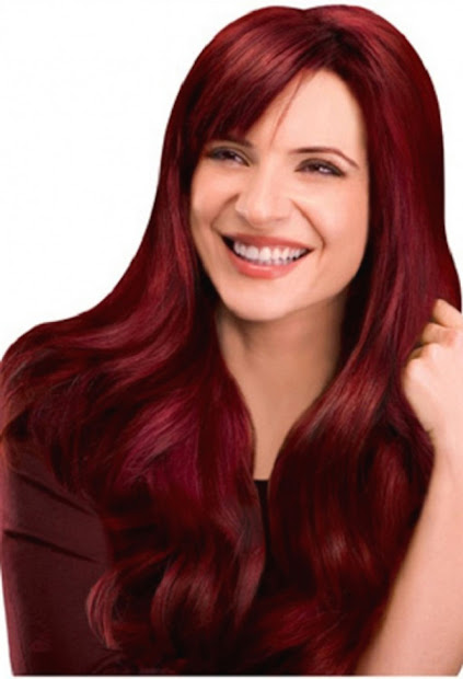 auburn hair color - top haircut