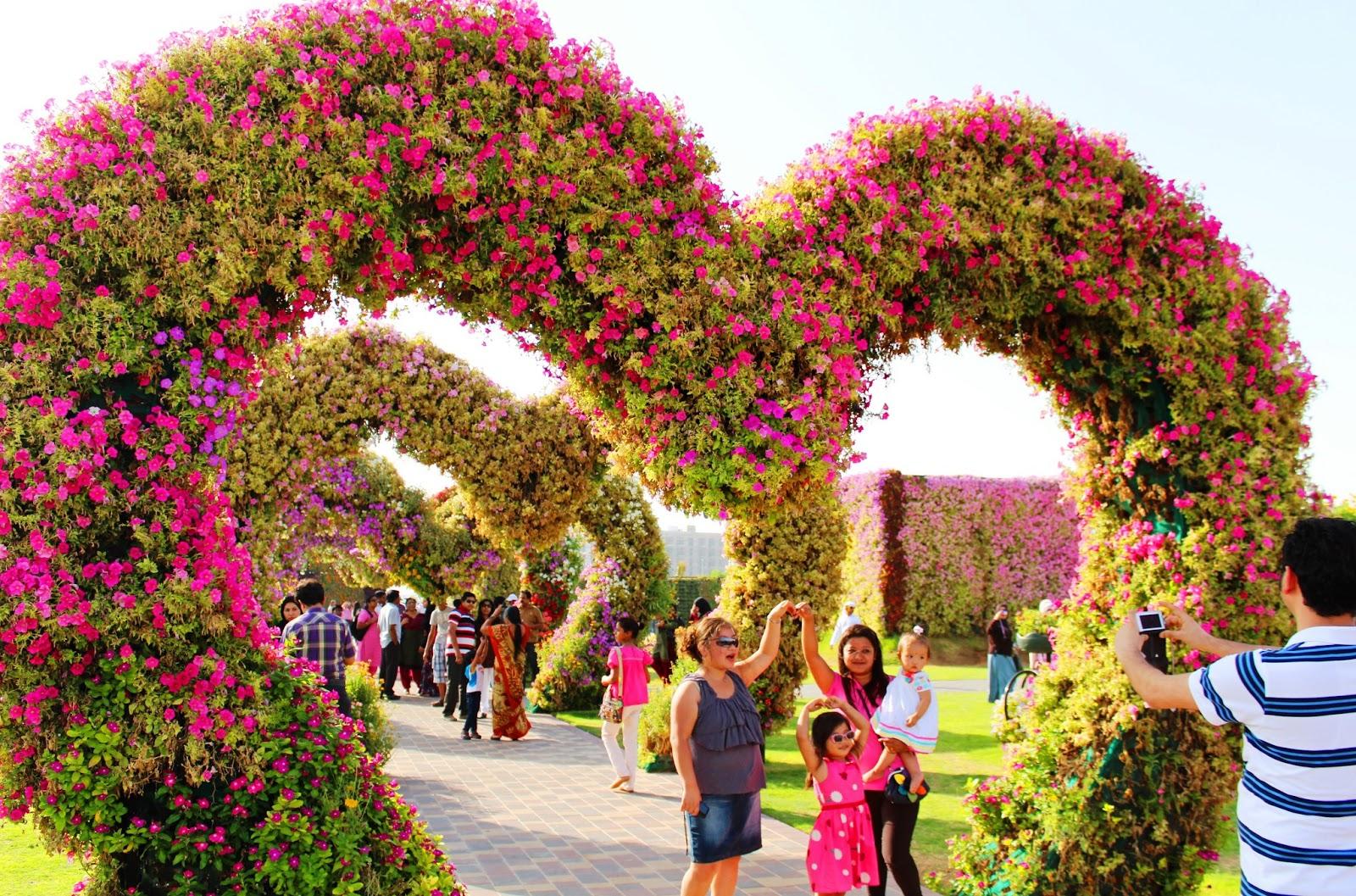 Having fun at Miracle Garden Dubai | The Street Photo Blog of ...