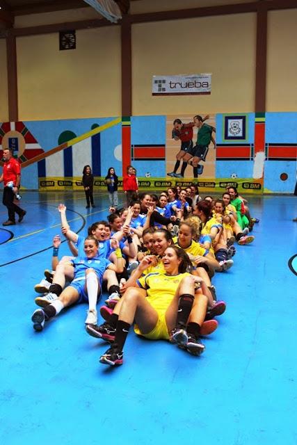Final del Campeonato Estatal de primera división femenina de balonmano
