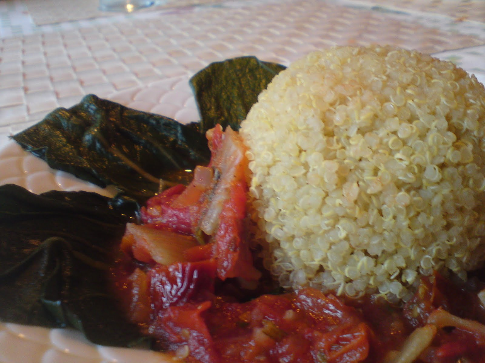 vit quinoa recept