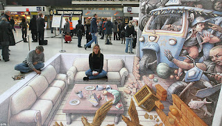 gambar gambar keren 5 Gambar Gambar Keren 3D Street Painting