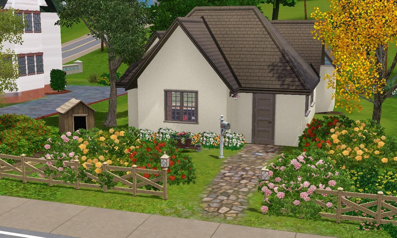 Estilo the sims como construir belas casas 1 - Casas bonitas sims 3 ...