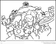 Avenger Coloring Pages