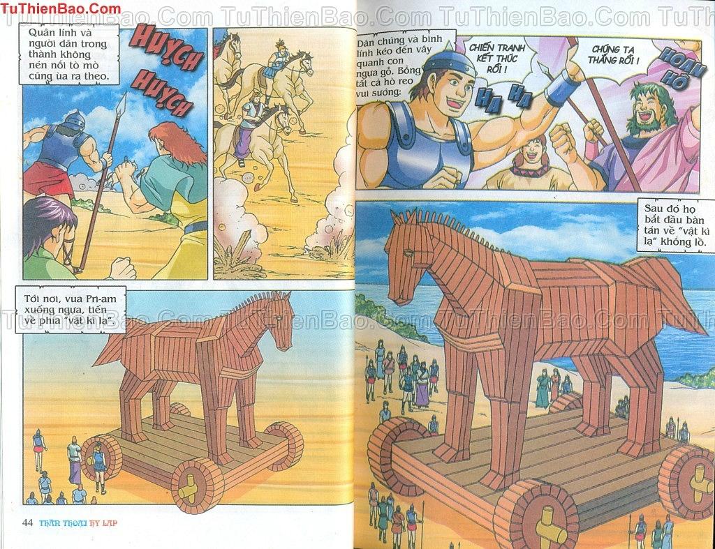 Thần thoại Hy Lạp Chapter 14 - Trang 21