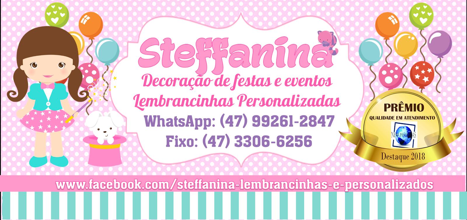 Steffanina - Decorações de Festas e Eventos