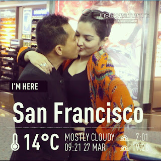Foto Ciuman Anang dan Ashanty