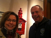 Councilwoman Burns and I at Historical Society