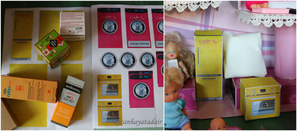 Kartondan Bebek Evi Nasıl Yapılır?