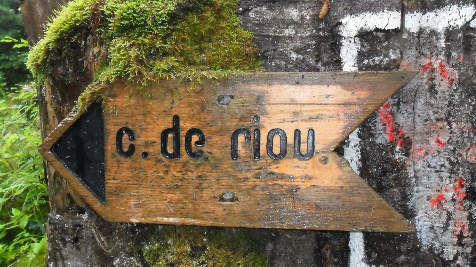 Schild Col de Riou