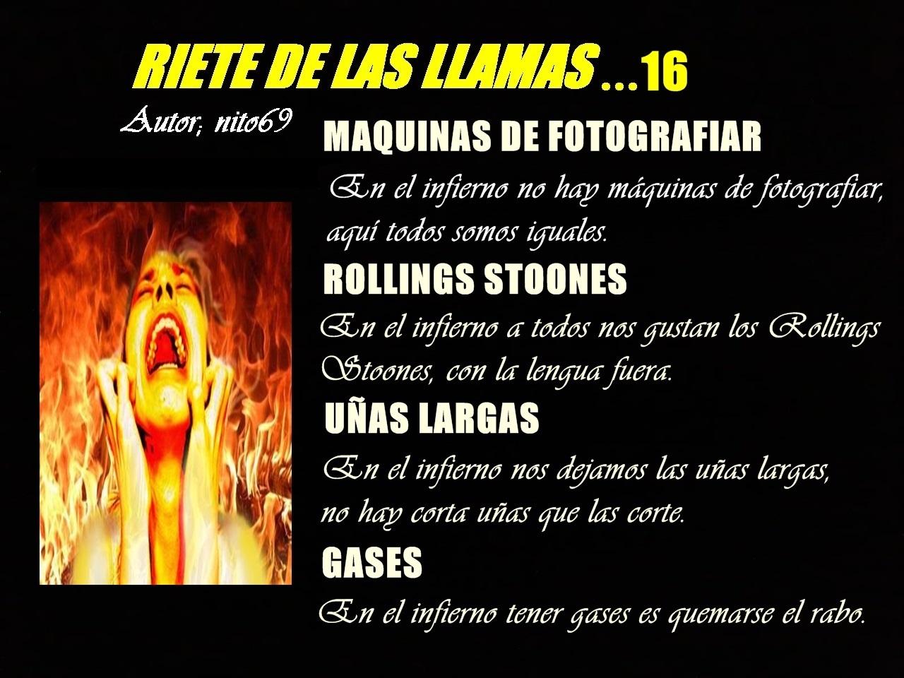 RIETE DE LAS LLAMAS…16