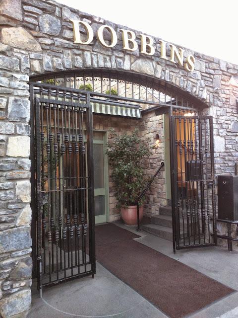 Exterior of Dobbins restaurant in Dublin
