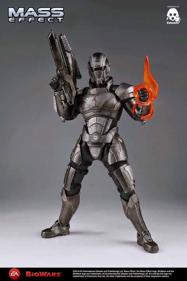 "ThreeZero - Mass Effect - 1/6 Scale - 12"" John Shepard figure"