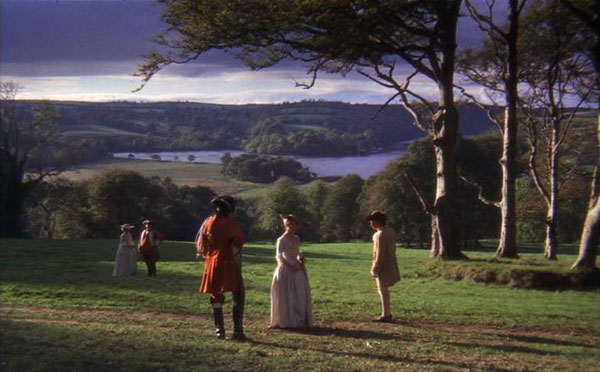 Barry Lyndon, directed by Stanley Kubrick