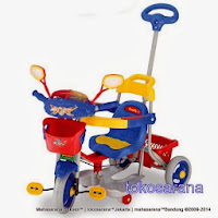 Sepeda Roda Tiga Family F5983 Police
