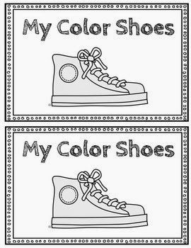 http://www.teacherspayteachers.com/Product/My-Color-Shoes-Emergent-Reader-1356178
