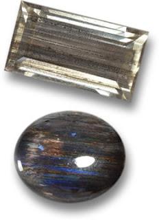 Rainbow Scapolite Gems