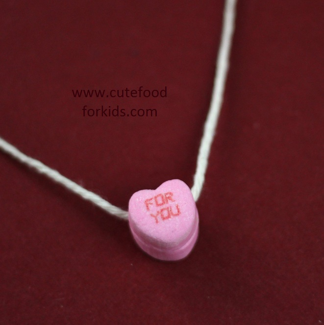 Cute Food For Kids Edible Necklace For Valentine S Day