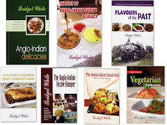 For Copies of my ANGLO-INDIAN RECIPE BOOKS