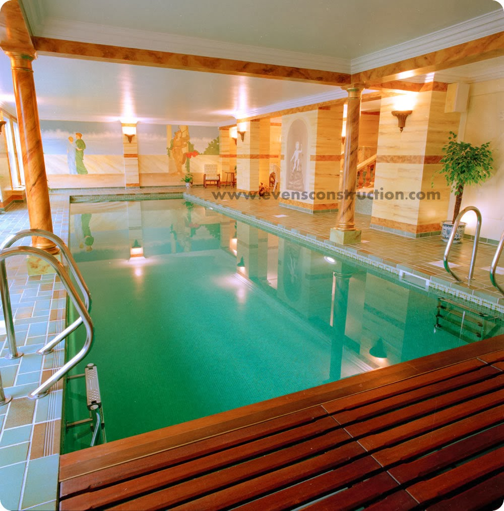 Evens construction pvt ltd compact indoor swimming pools Basement swimming pool construction