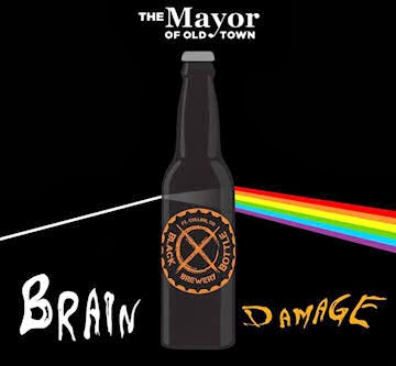 Black Bottle - Mayor of Old Town - Brain Damage